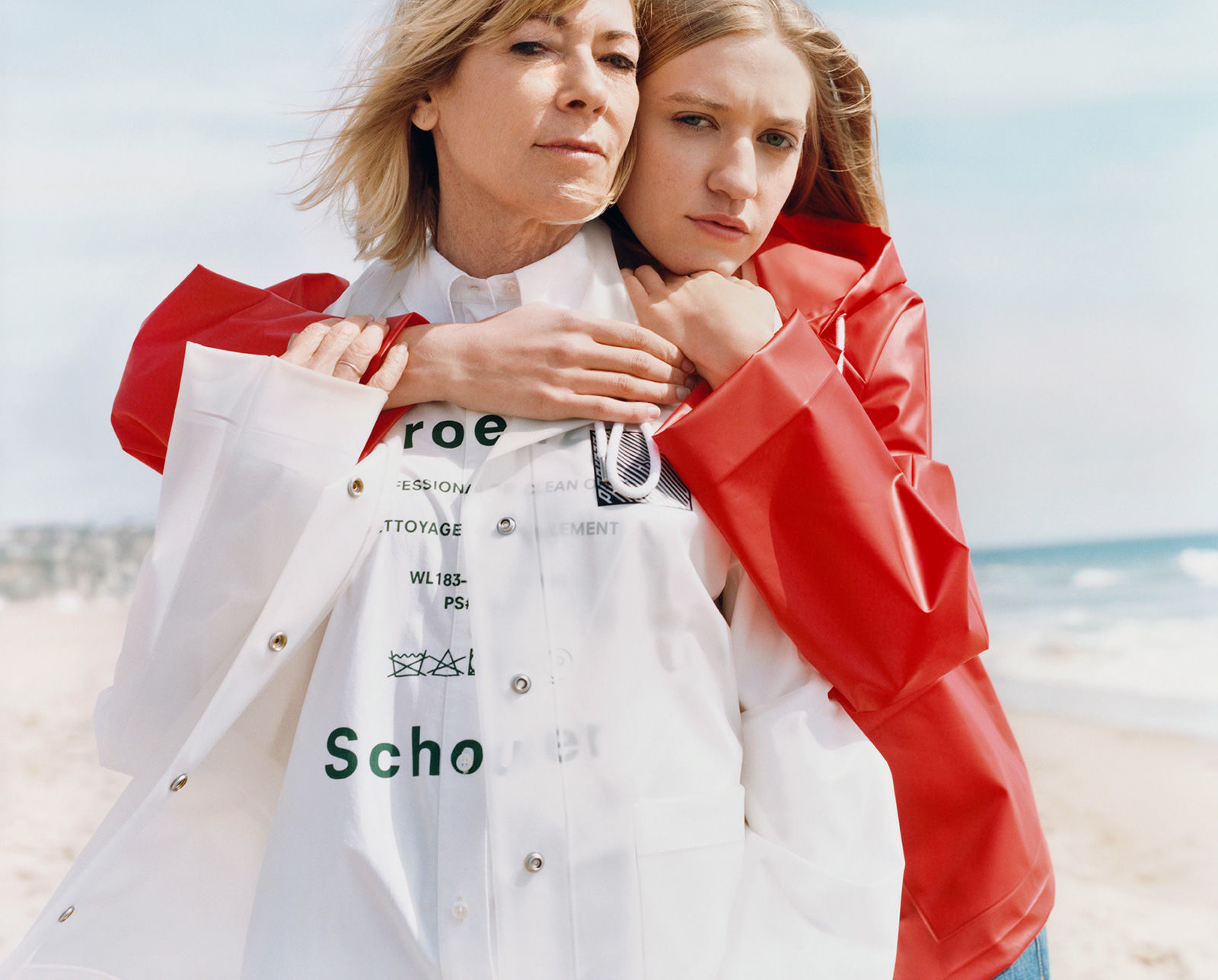 proenza schouler pswl kim gordon and coco gordon moore