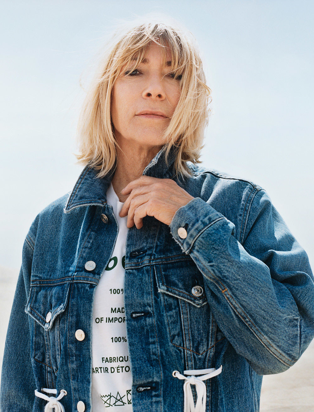 proenza schouler pswl kim gordon denim jacket