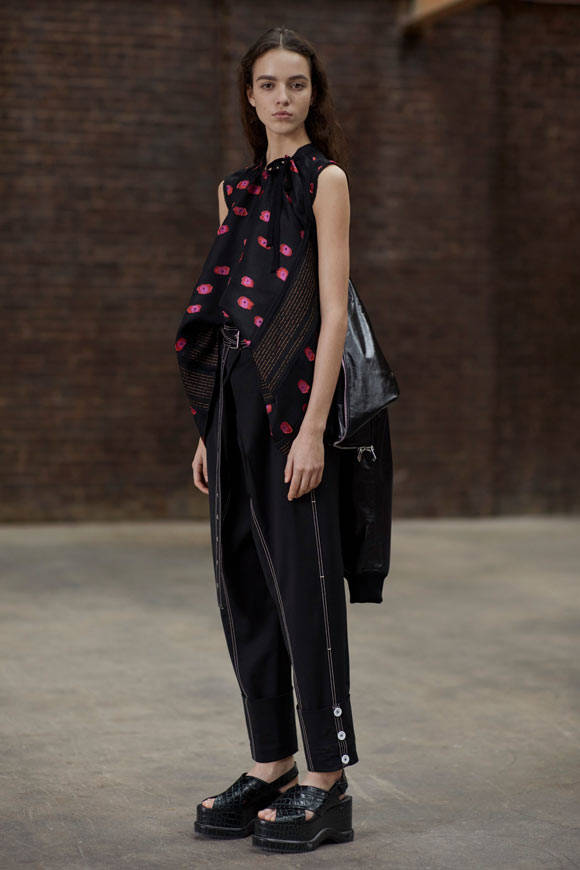 proenza schouler pre fall 2017 lookbook