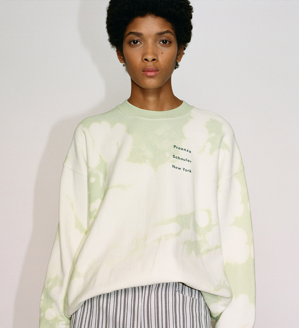 exclusive tie dye sweatshirt from White Label
