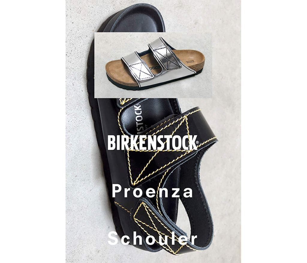 Sign up for our newsletter to be the first to hear about the Proenza Schouler x Birkenstock launch.
