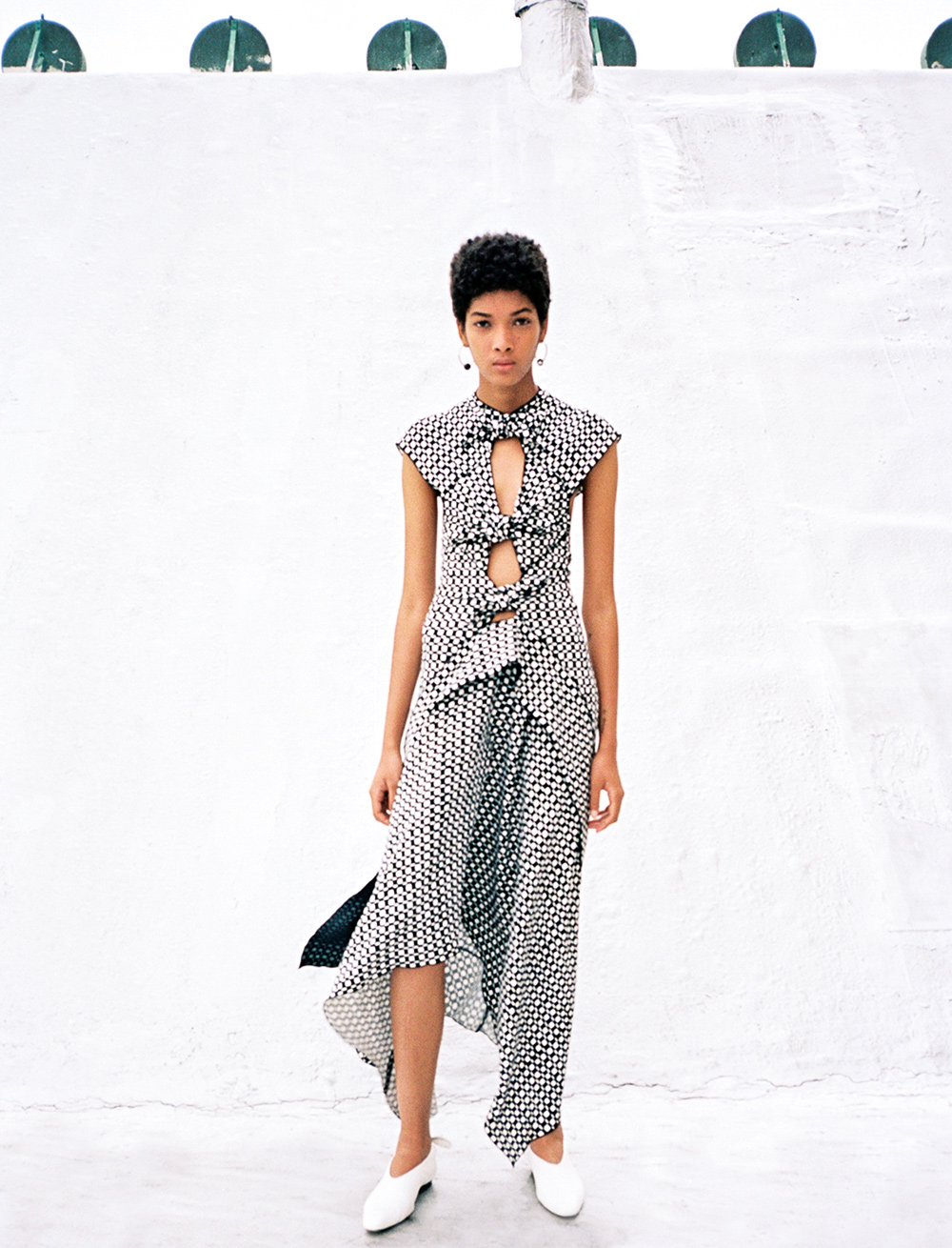 proenza schouler tiered dress lazaro hernandez