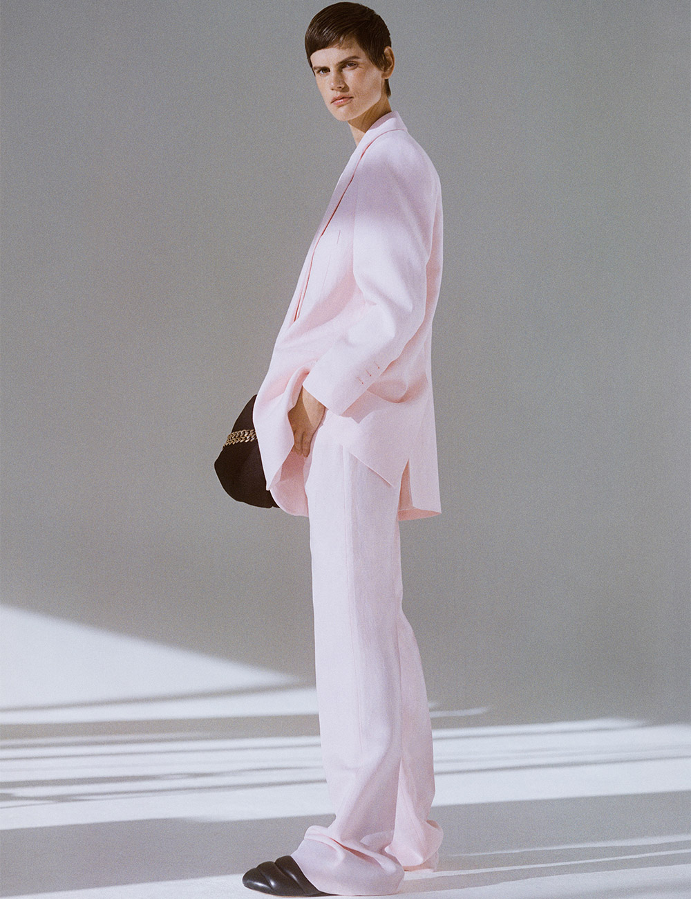 SS21 Look 21: Pink Suit