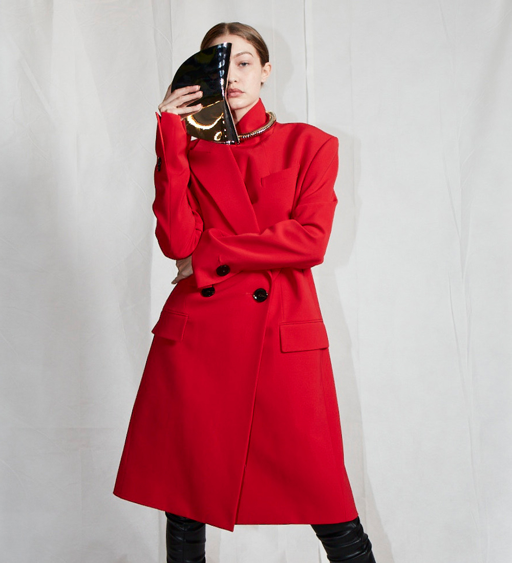 campaign image of the red coat